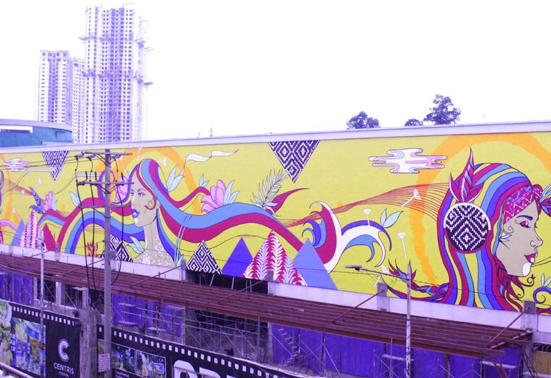 Eton Centris mural